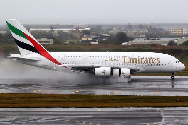 Emirates | Airbus A380-800 | A6-EEE | Taipei Taoyuan