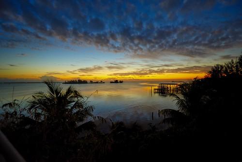 arloguthrie nikond810 roselandfl indianriver indianriverlagoon sunrise morning clouds water nikkor