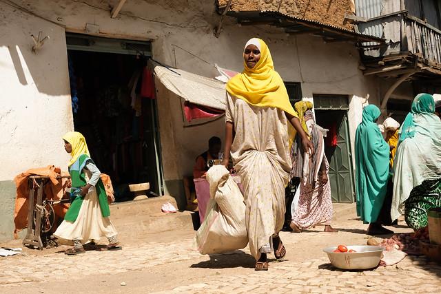 Handfull wallet, Harar, Ethiopia
