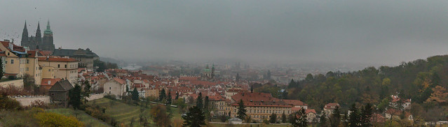 Last Look of Prague Castle
