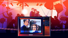 Maria Zaikina, The X-Files, illustration for https://www.the-village.ru/village/weekend/specials-weekend/372085-lg-oled