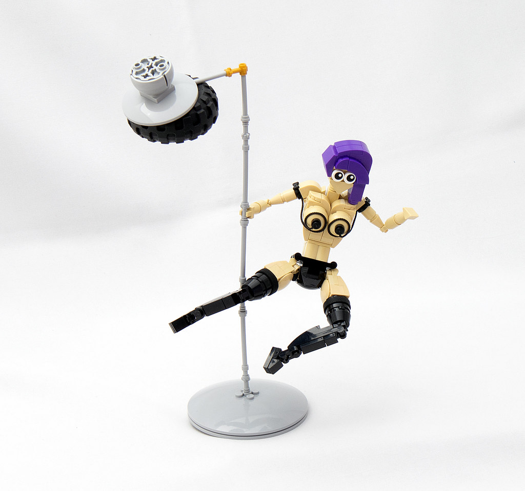 LEGO® MOC by vitreolum: Extreme Balancing Act