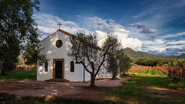 Chiesina di San Giuseppe Opifex delle Grottine, Church of San Giuseppe Opifex delle Grottine - Bolgheri