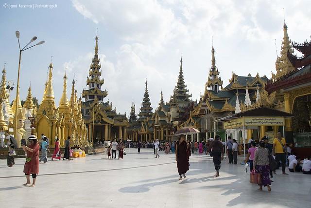 Shwedagon-pagodi, Yangon, Myanmar