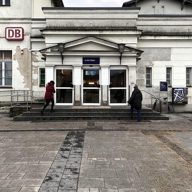 Bahnhof in Bernau / Bahnhofsplatz