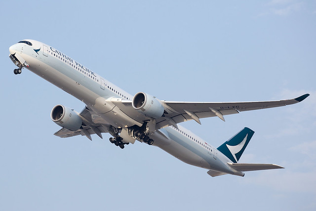 Cathay Pacific Airways   Airbus   A350-1041   B-LXG