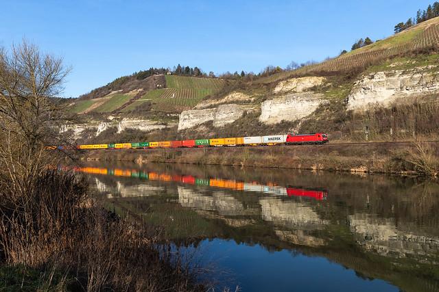 DB Cargo 187 142 - Himmelstadt