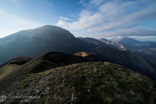 Panorama mistico dal monte Lo Spicchio