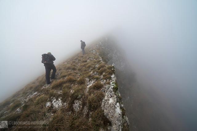 Monte Culumeo, fendendo l'ignoto