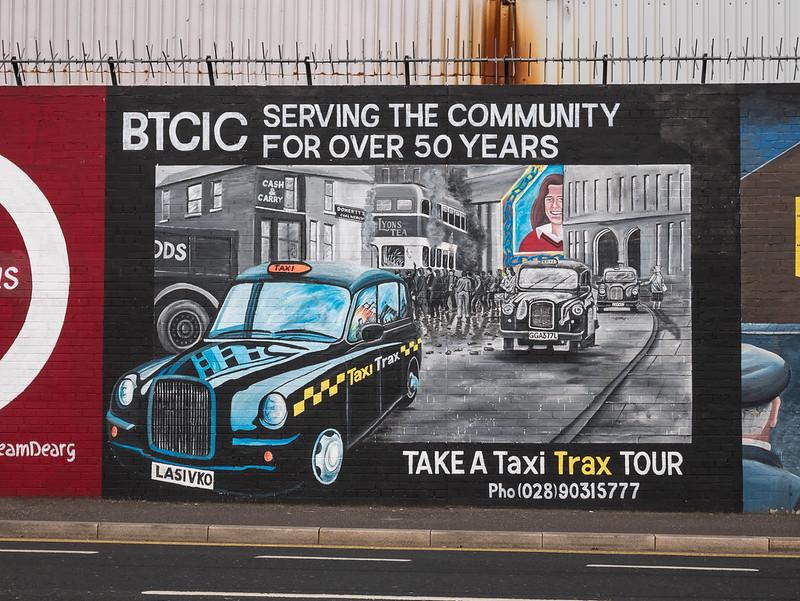 Taxi Trax Tour, Belfast