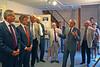 2015 in der Billeder Heimatausstellung mit Reinhold Gall MdL, Innenminister des Landes B-W und Dr. Frank Mentrup, Oberbürgermeisters der Stadt Karlsruhe