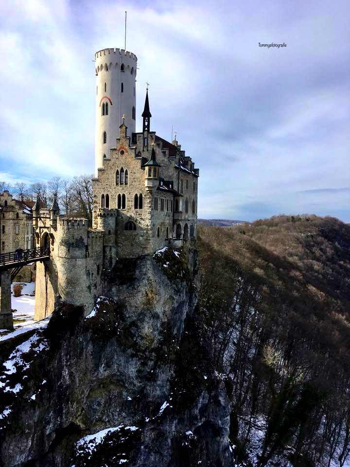Castle Lichtenstein in the south of Germany, famous for the movie sleeping beauty, Germany