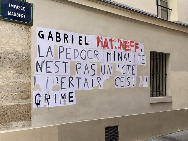 Gabriel Matzneff - HLM dans le Quartier latin