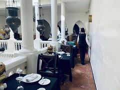 Such a warm atmosphere 😁 #rickscafecasablanca #rickscafe #morocco