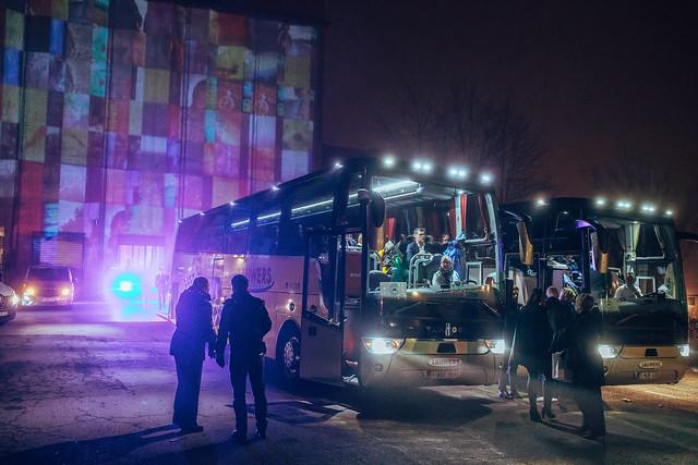Guests leaving VINCI 2020
