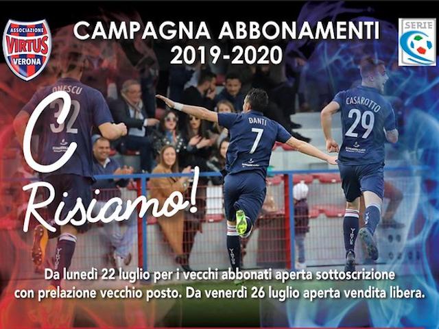 CAMPAGNA ABBONAMENTI 2018/2019 C siamo!