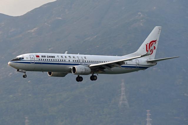 Air China Boeing 737-89L(WL) B-1942