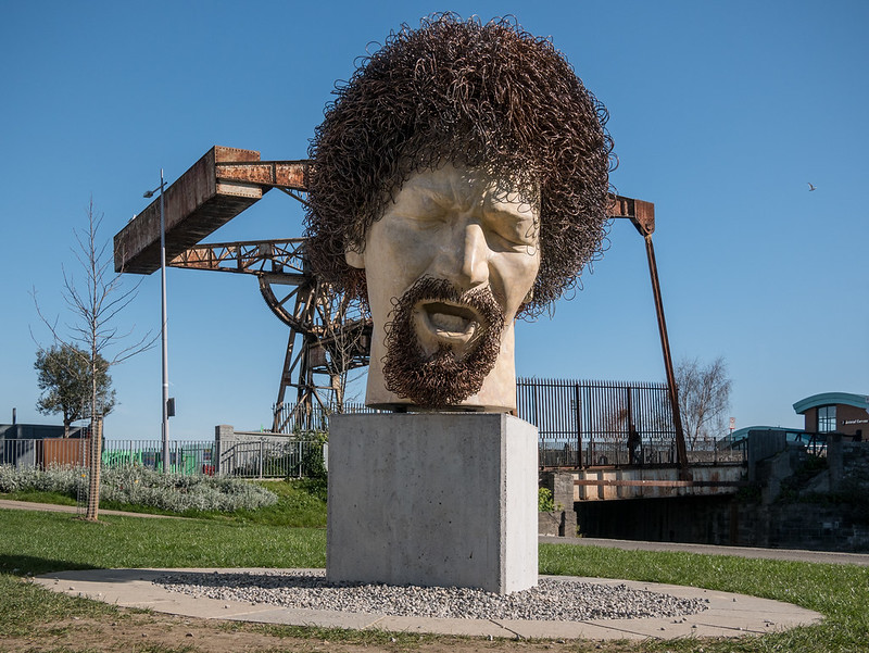 Luke Kelly Sculpture, Dublin