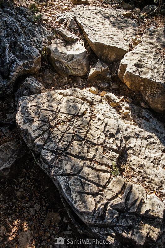 Rocas cerca de la Collada de les Hortasses