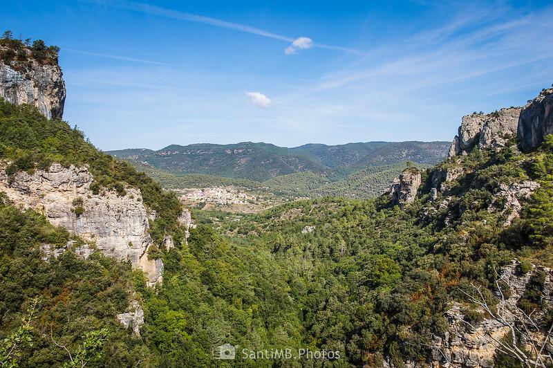 Vista desde el sendero de La Pixera