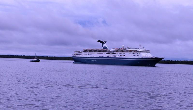 Chegada do navio M/S Magellan em Manaus - 25.01.2020
