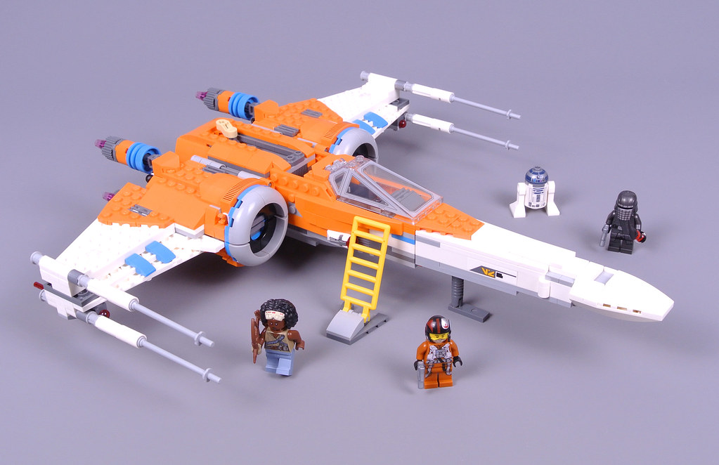 Review 75273 Poe Dameron S X Wing Fighter Brickset Lego Set Guide And Database