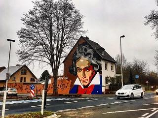 #Beethoven #ontheroad #Graffiti