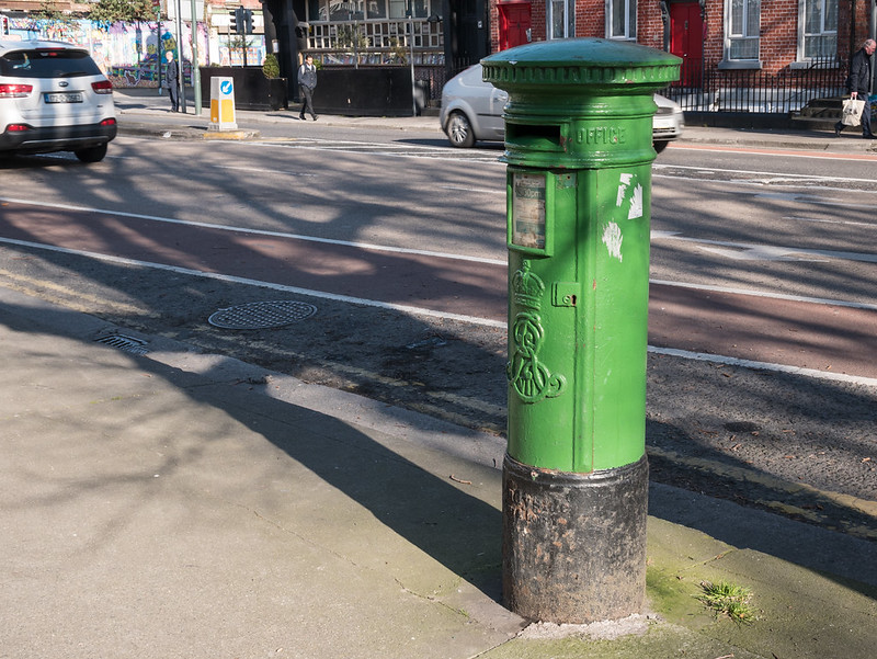 Green Post Box, Dublin
