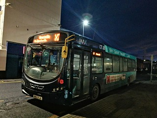 Arriva Northumbria 1503 on the X7