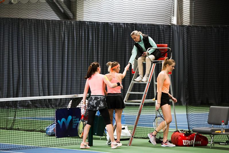 """Starptautiskās ITF pasaules tenisa tūres sacensības sievietēm """"Liepaja Open"""" 6.diena. Foto: Mārtiņš Vējš / 6th day of ITF Women's World Tennis Tour """"Liepaja Open"""". Photo: Mārtiņš Vējš"""