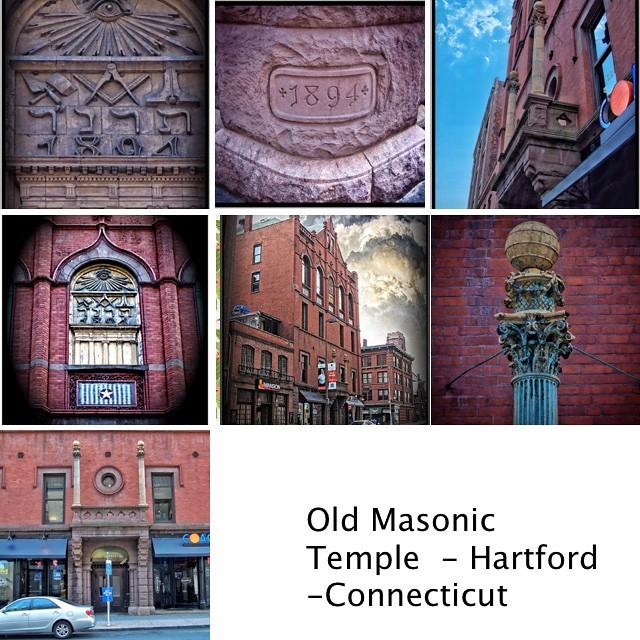Hartford Connecticut - Masonic Temple - 1894 - Historic Building
