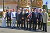 Mit den Ehrengästen bei der 250 Jahrfeier seit der Gründung der Gemeinde Billed 2015