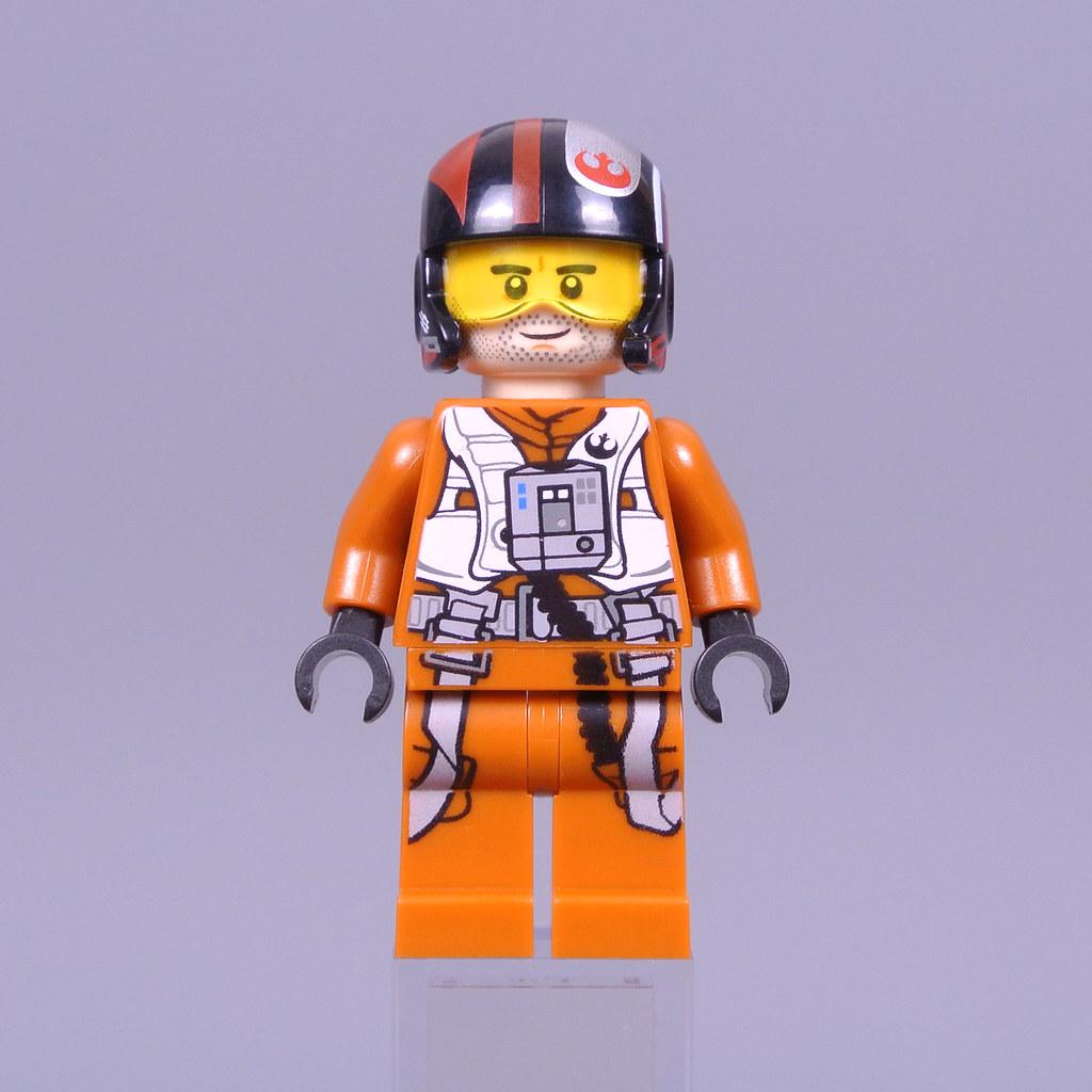 LEGO Star Wars Poe Dameron Pilot Jump Suit LEGO Minifigure
