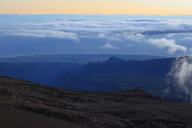 La Réunion - Sunrise on the Piton des Neiges (3,069 m)