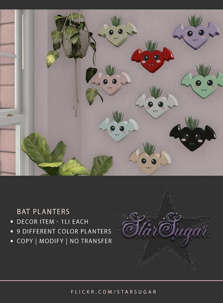 Bat Planters