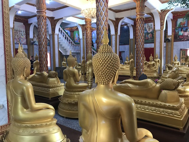 Inside Wat Chalong, Phuket