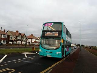 Arriva Northumbria 1407 on the 308
