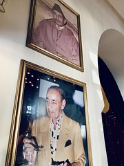 Wall fit for a king 👑 #rickscafe #morocco #rickscafecasablanca