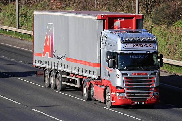 Jan 20 2020 M40 beaconsfield A1 Transport OIG 6301