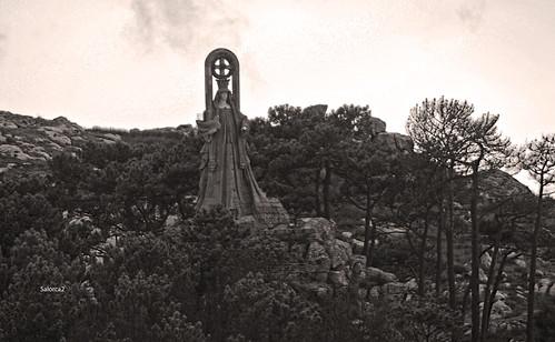 Virgen de la roca,Baiona