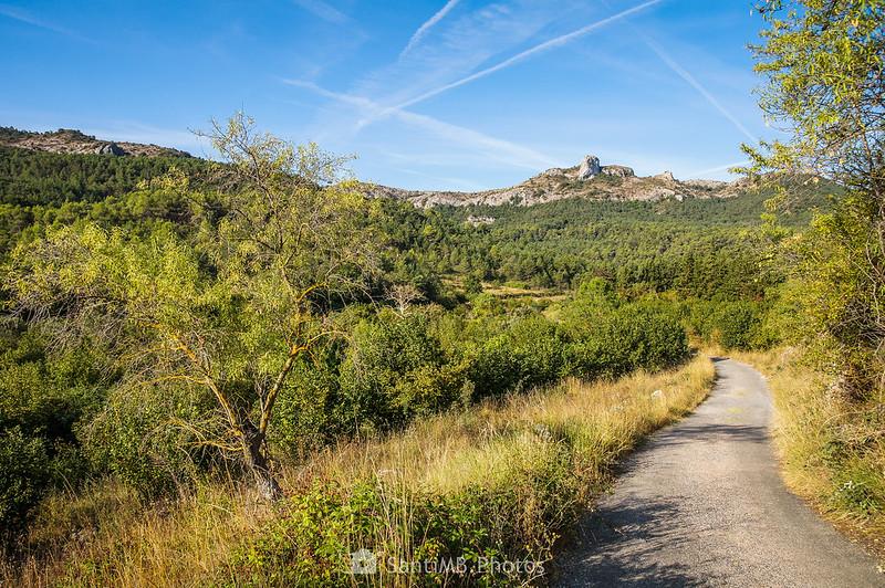 El Picorandán desde el camino a La Mussara