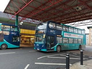 Arriva Northumbria 7555 on the X20