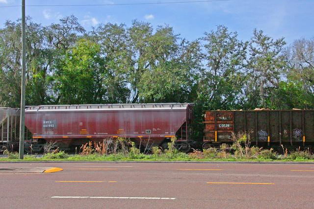 Three Bay Covered Hopper, Land of Lakes Boulevard, Land O' Lakes, Florida