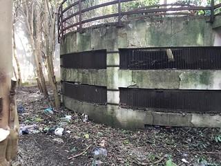L'interno della 'grave' di Largo Pozzi