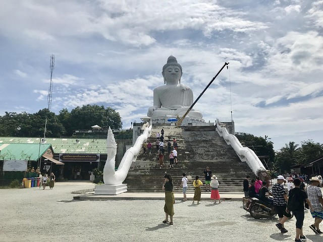 Visiting Big Buddha, Phuket