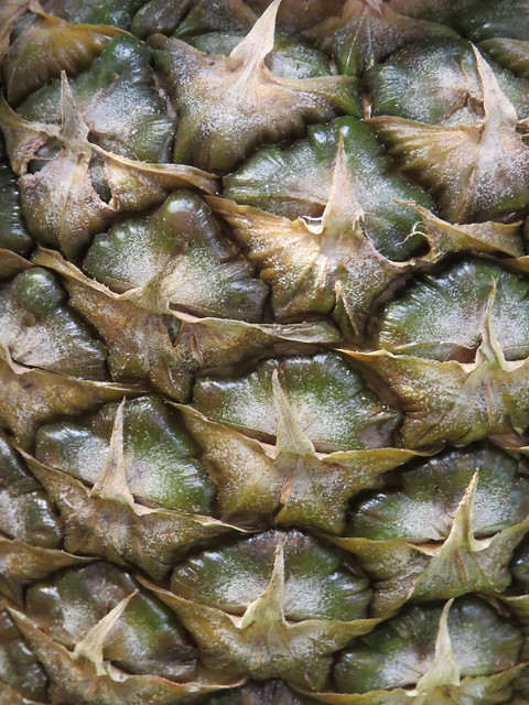 pineapple close-up