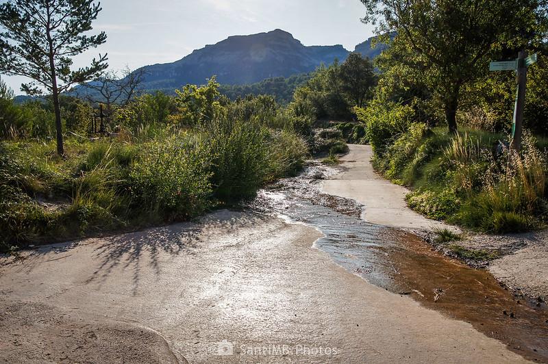 Camino a La Mussara por la Font de la Llúdriga