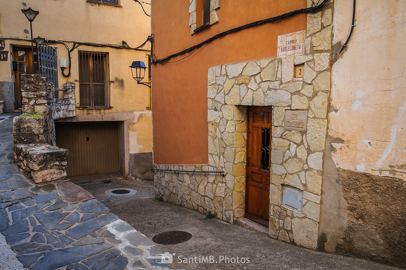 Calle Barceloneta de Capafonts