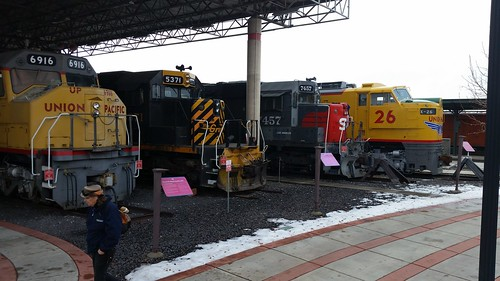 Ogden Union Station Locomotive Lineup