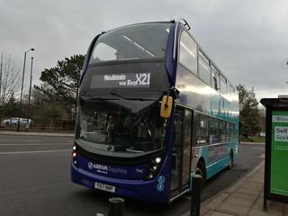 Arriva Northumbria 7543 on the X21